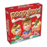 Poopyhead FAMILY GAME - Whoopie Cushion Included!  Poopy Head 6+ - NEW
